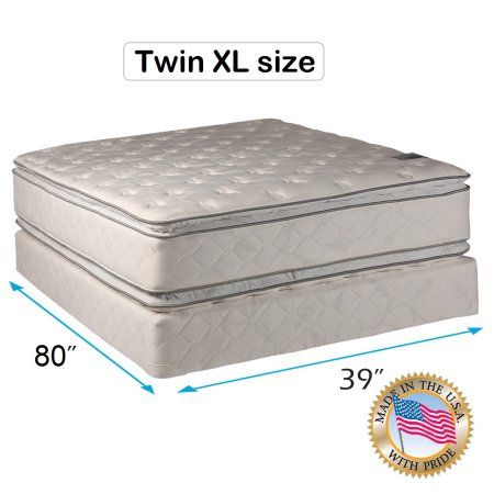 Buy Dream Solutions Usa Brand Gentle Firm Pillowtop Eurotop Twin