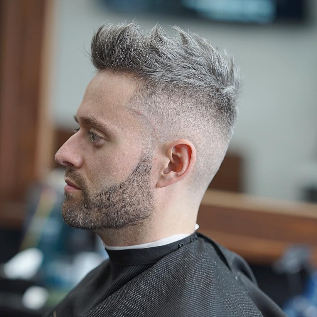 Men S Hairstyles Haircuts 2019: Mens Fauxhawk Fade Haircuts 2019