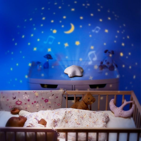 Baby Room Moons And Stars Projector. | Baby Light Projector, Baby Night Light, Baby Night Light Projector