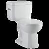 Notre toilette la plus performante (4.8 litres par chasse) sans clapet !  Niagara Flaperless
