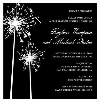 wedding sparklers - Google Search Invitations Pinterest Häät - free engagement party invites