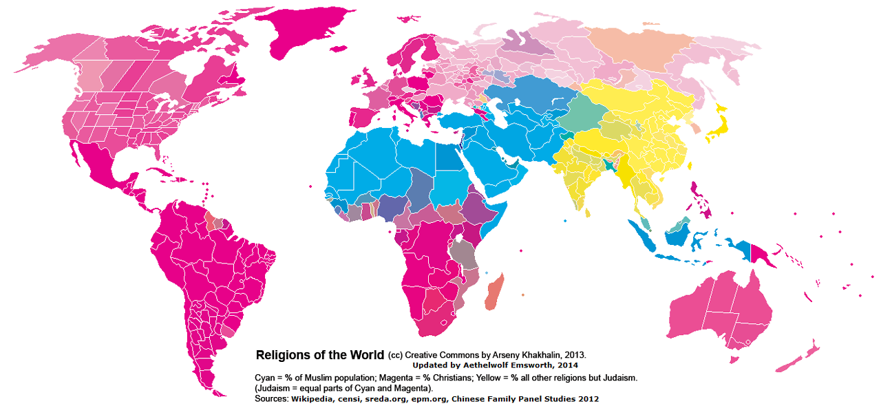 Religions of the world by country and by administrative regions for religions of the world by country and by administrative regions for china india gumiabroncs Gallery