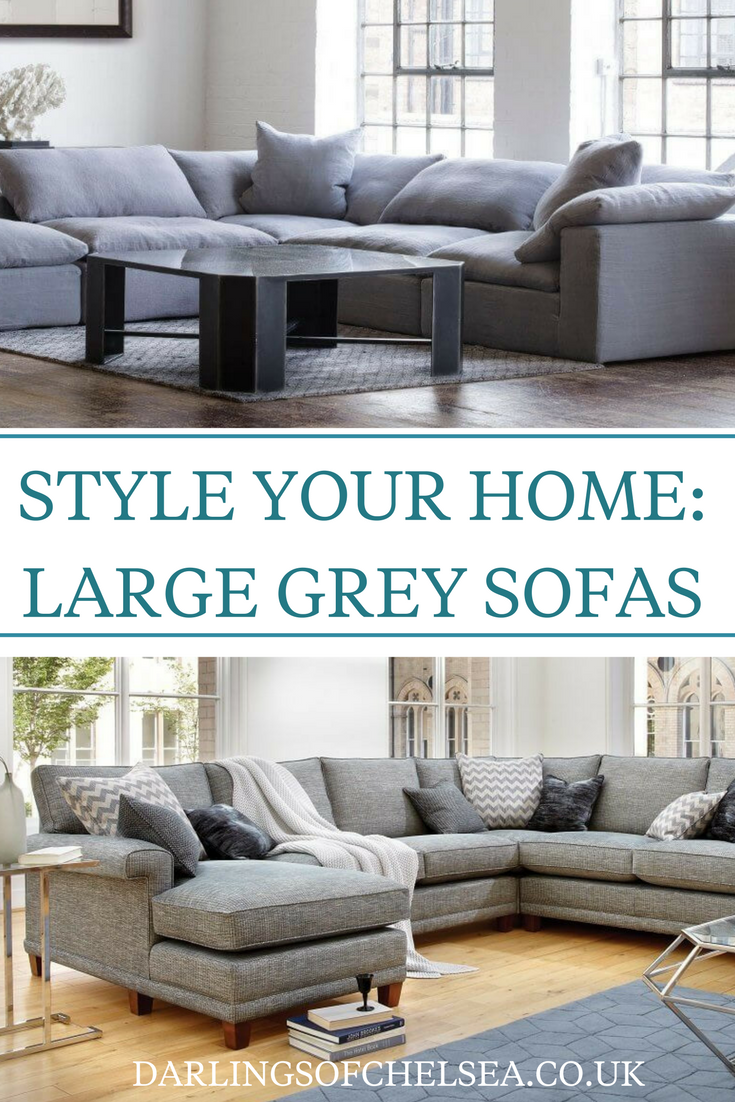 Grey Sofas Are Still Some Of The Most Popular For Homes In The UK. Large