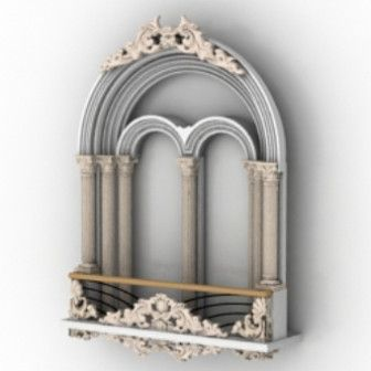 Download Vintage Castle Windows 3d Max Model Free In 3ds
