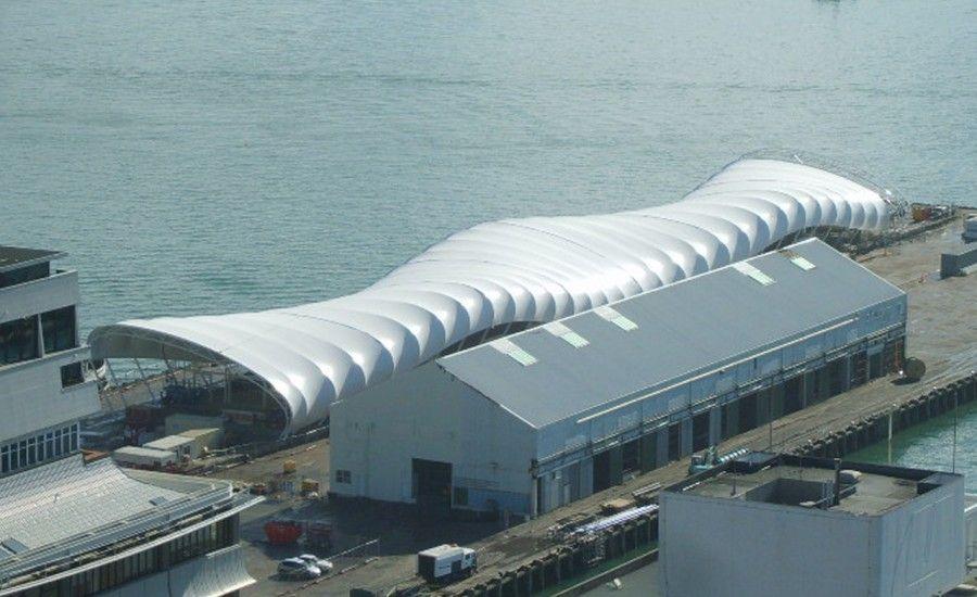 Unusual shape tensile fabric roof & Unusual shape tensile fabric roof | Cyclehubs | Pinterest ... memphite.com
