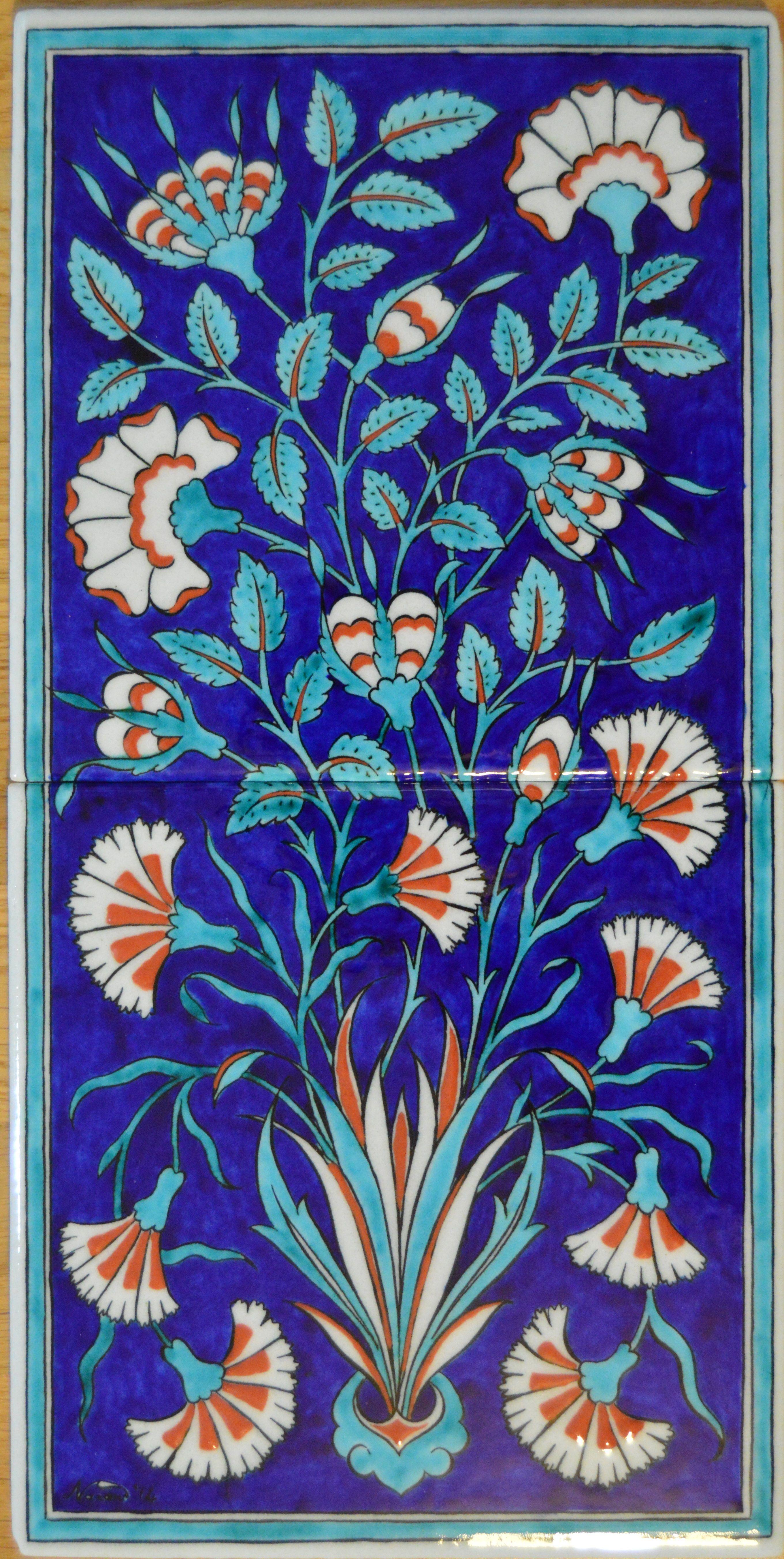 Pin Von Nazan Ilgaz Auf Turkish Tile Art Pinterest - Fliesen auf türkisch