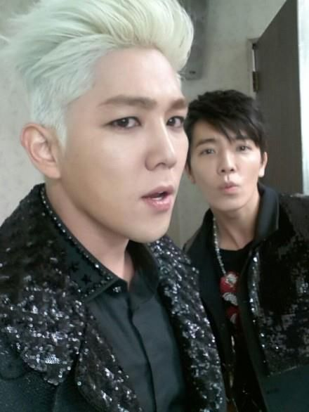 Kangin and Donghae