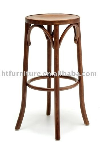 NEW Noosa Wooden French Bistro Country Style Bar Stool Unique backless wooden bar
