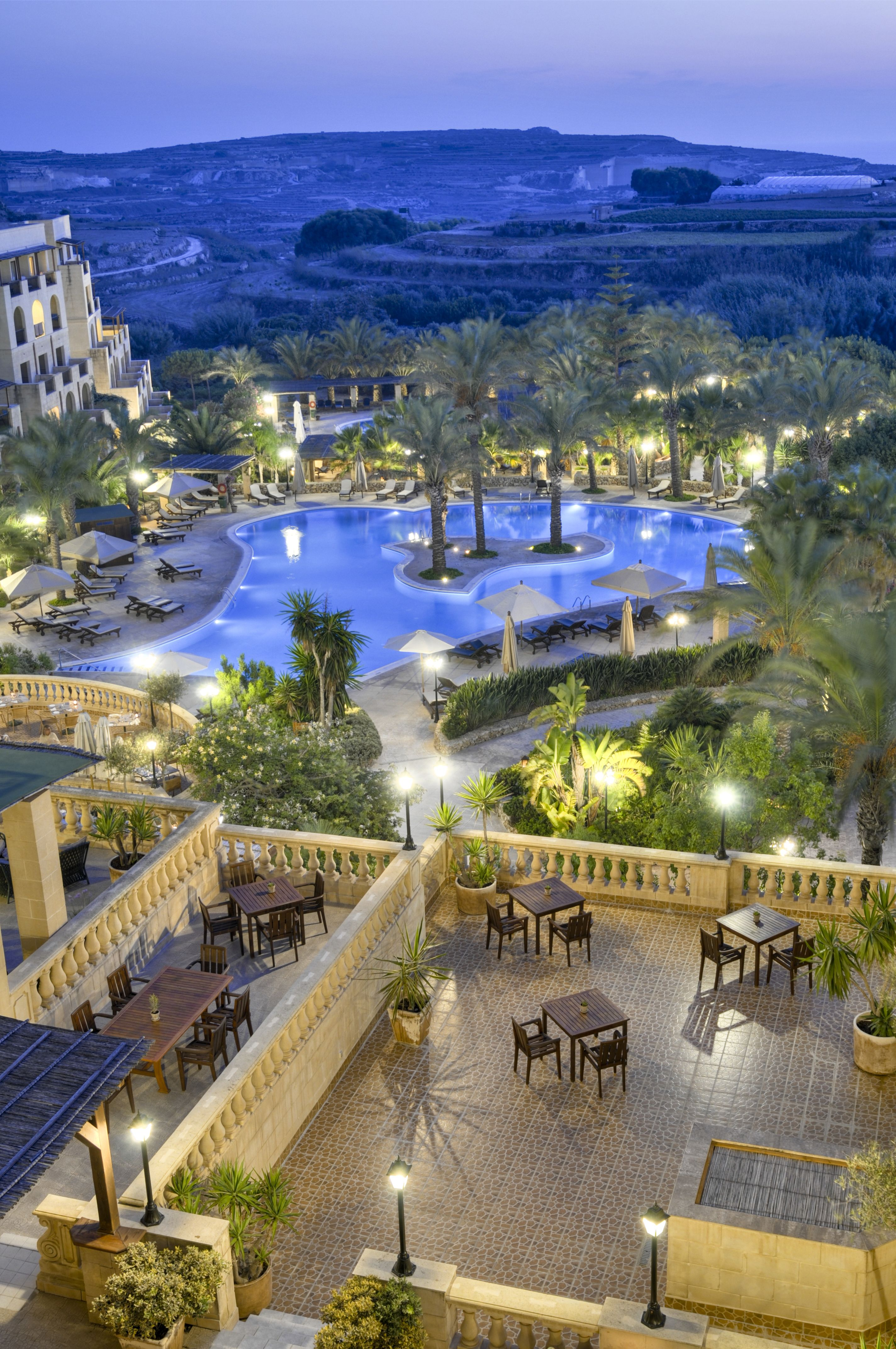 Exterior views of the kempinski hotel san lawrenz gozo malta so beautiful