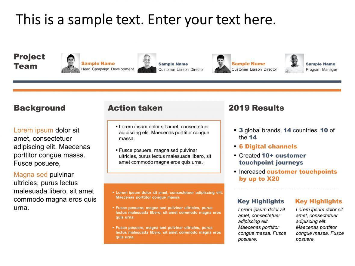 Project Executive Summary Powerpoint Templates Executive