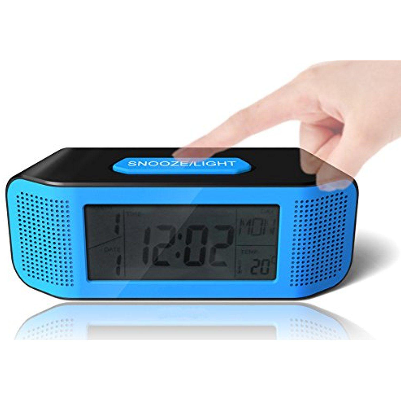 Digital Alarm Clock Loud Electric Clocks With Snooze Sound