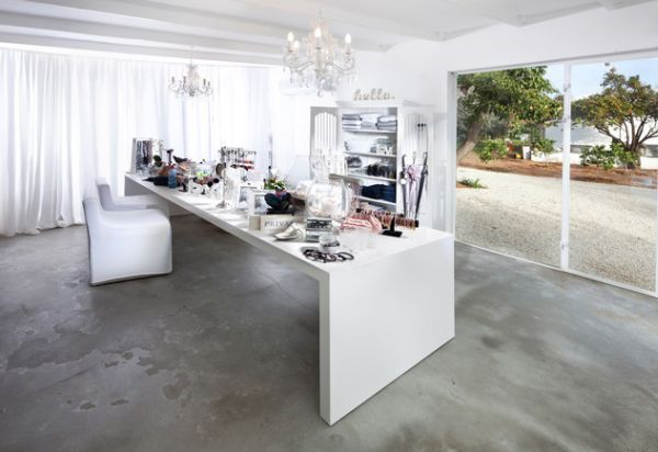 Lovely Concrete Floors In Homes | How To Select Flooring For A Home Office Amazing Design