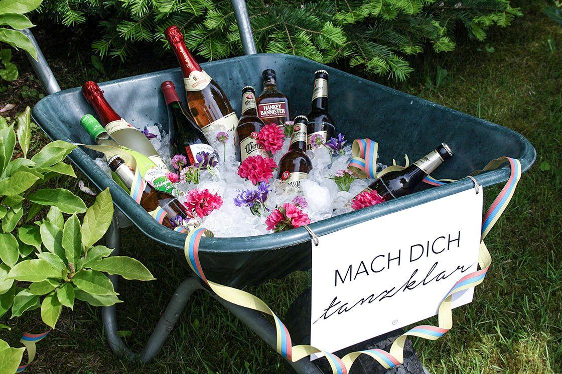 Gartenparty: Deko, Rezepte und mehr #gartendekoideen