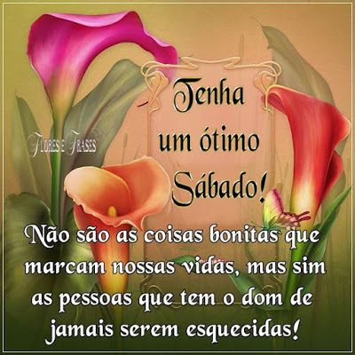 Flores E Frases Tenha Um ótimo Sábado Bom Dia Frases E Peace