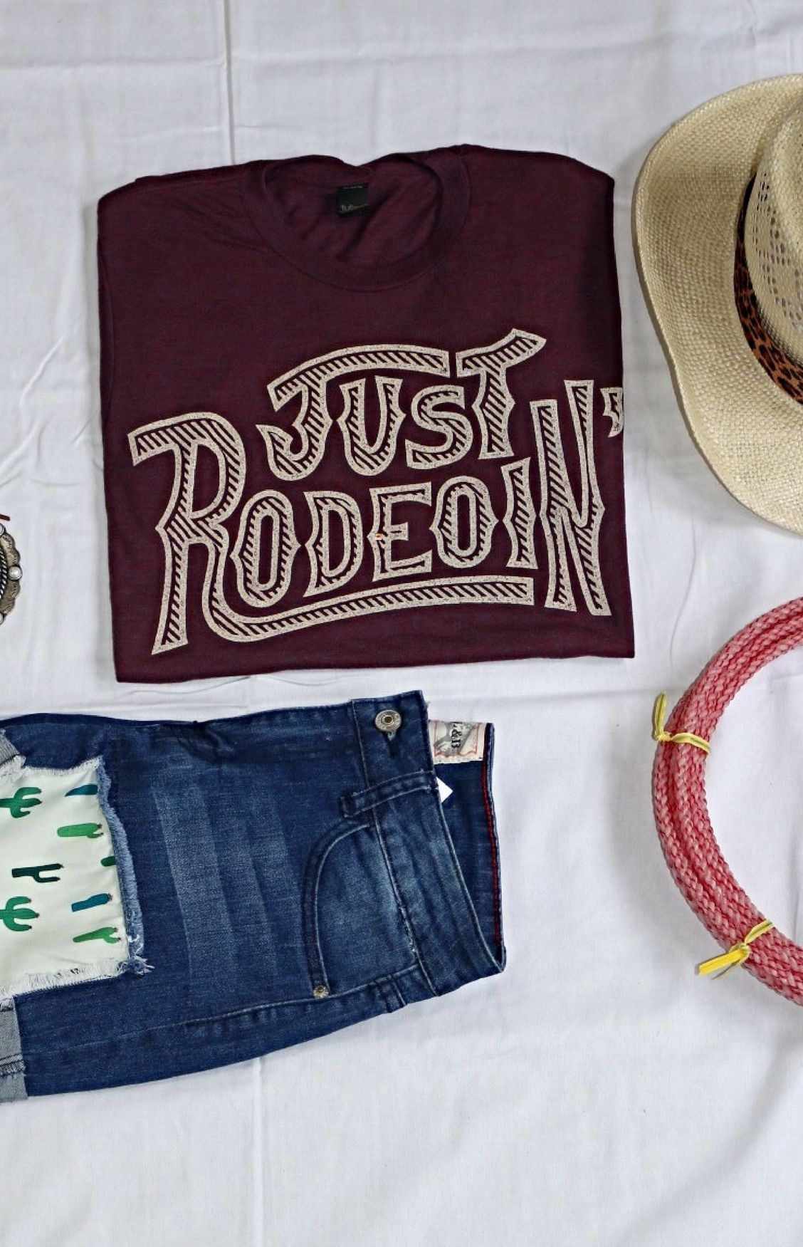 2516adbbc Dale Brisby Just Rodeo'in Tee | C l o t h e s | Dale brisby, Country ...
