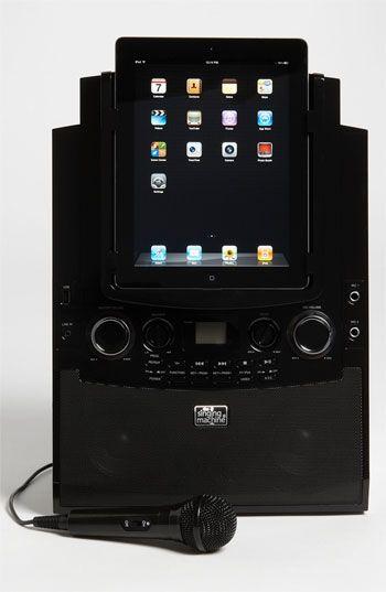 Singing Machine iPad Docking Karaoke System (Girls) | Nordstrom