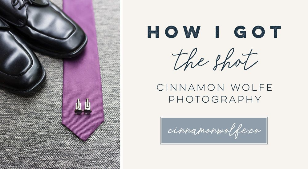 How I got the Shot | Photographer Education | Behind the Scenes | Camera Settings | Groom Details http://www.cinnamonwolfe.co/blog/how-i-got-the-shot-groom-details