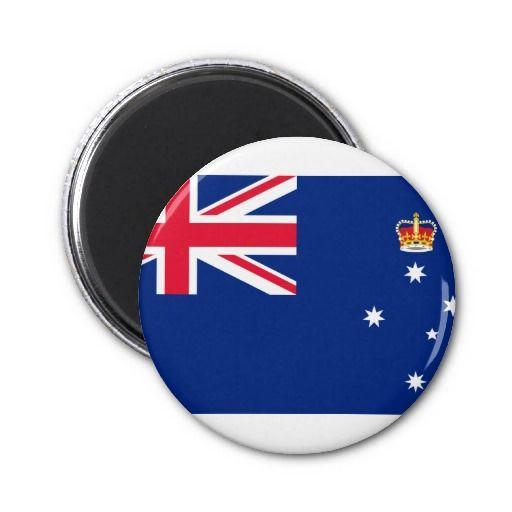 Victoria Australia, Australia Fridge Magnet