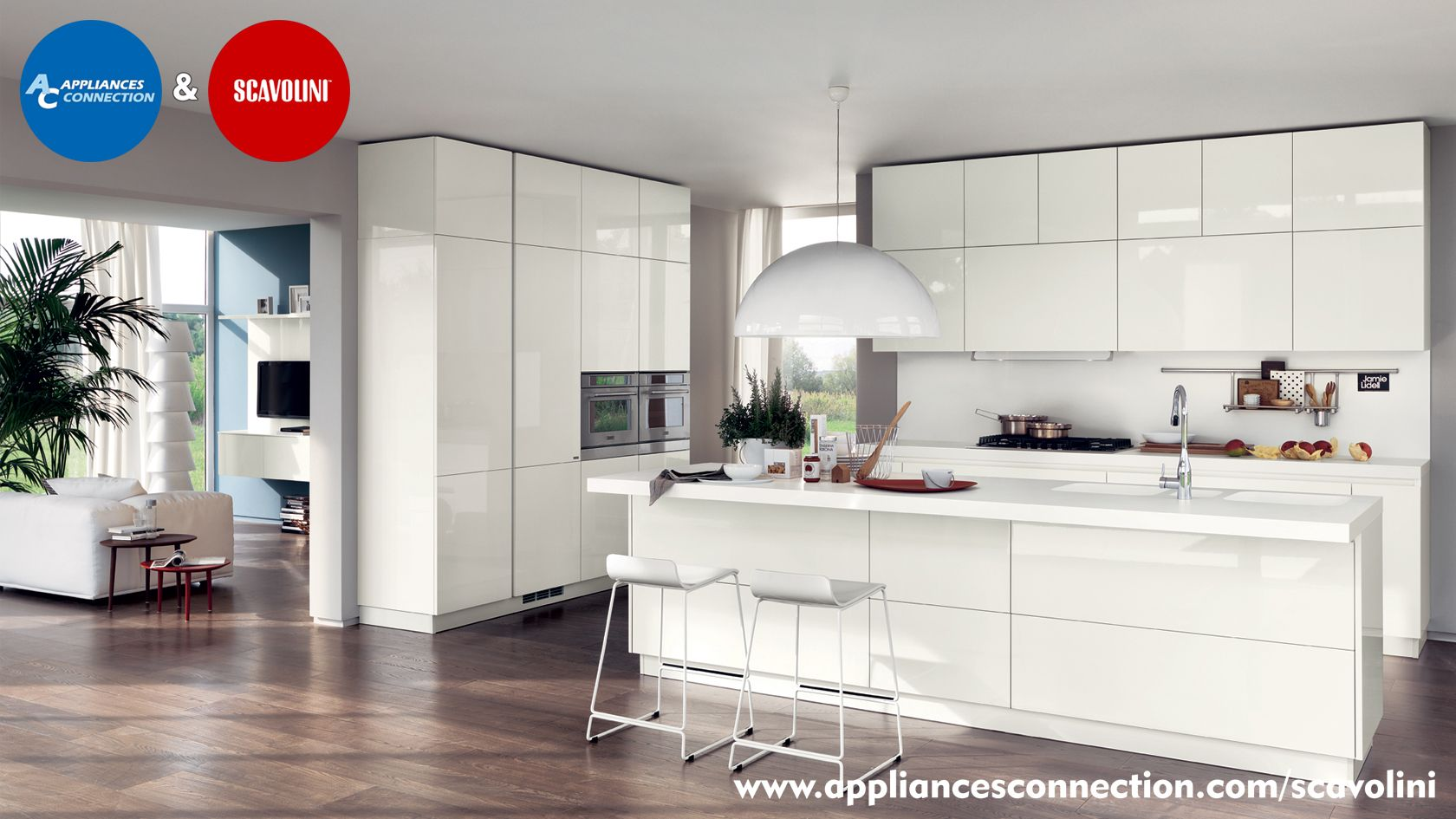 Italian Made and Designed, Scavolini Cabinets come in all styles ...