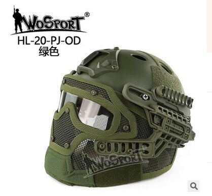 Airsoft Fast Multi-function Helmet Paintball Helmet Tactical Military Protection