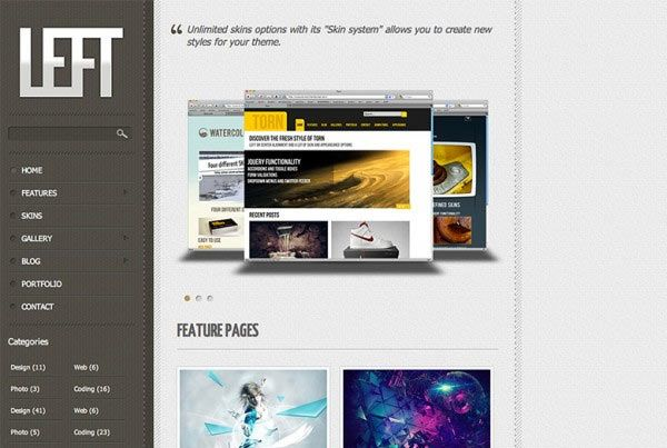 Top 10 Free Html5 and CSS3 Templates for Instant Download
