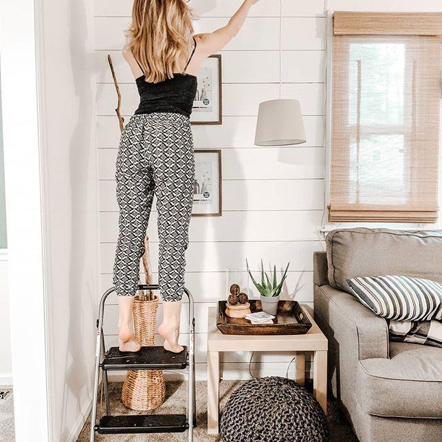 Best Living Room Shiplap Wall Color Alabaster Regram Via 400 x 300
