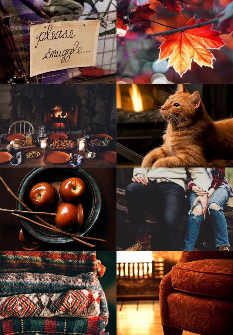 Here, have some cosy autumn Gryffindor. | Aesthetics ...