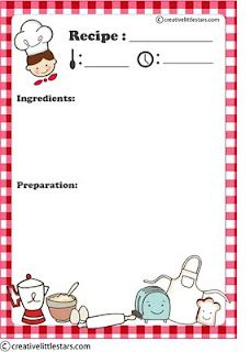 Free Printable Recipe Card   Pinteres