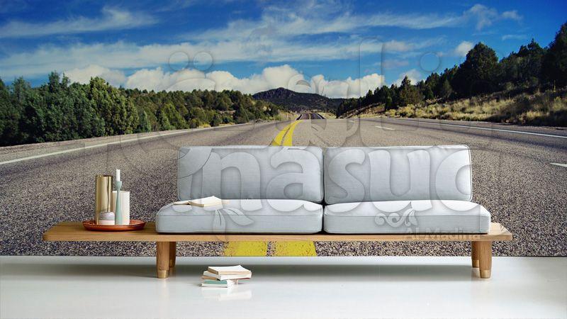 On The Road Wallpaper خلفيات ثري دي للحوائط Outdoor Decor Outdoor Furniture Outdoor Sofa