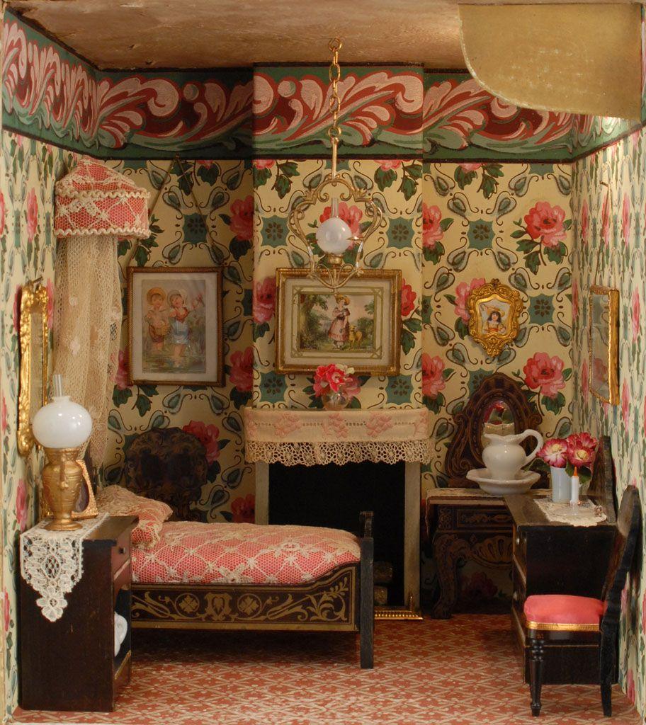 Fabulous Dollhouse Rooms, From Carmel Doll Shop.