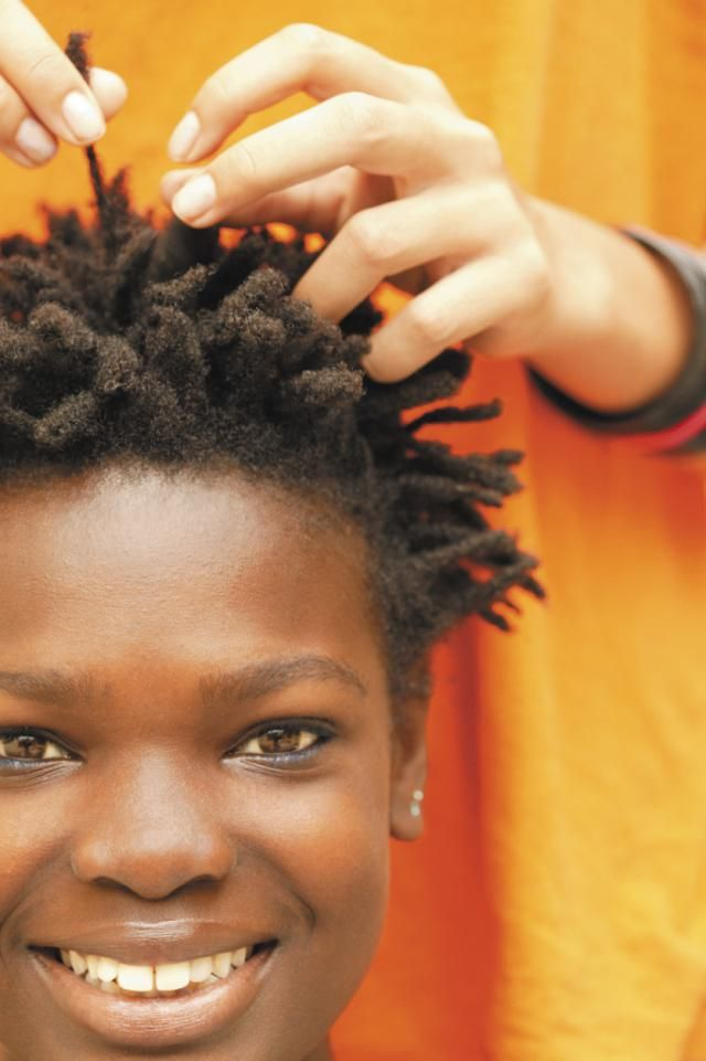 a simplified guide to the different stages of locs