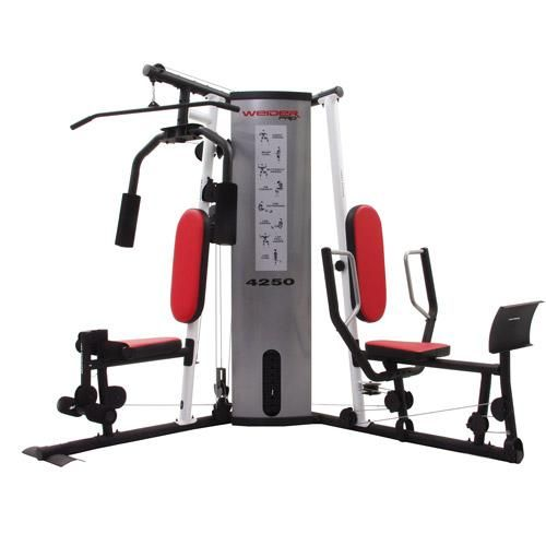 My weight machine weider pro fitness at home gym workout