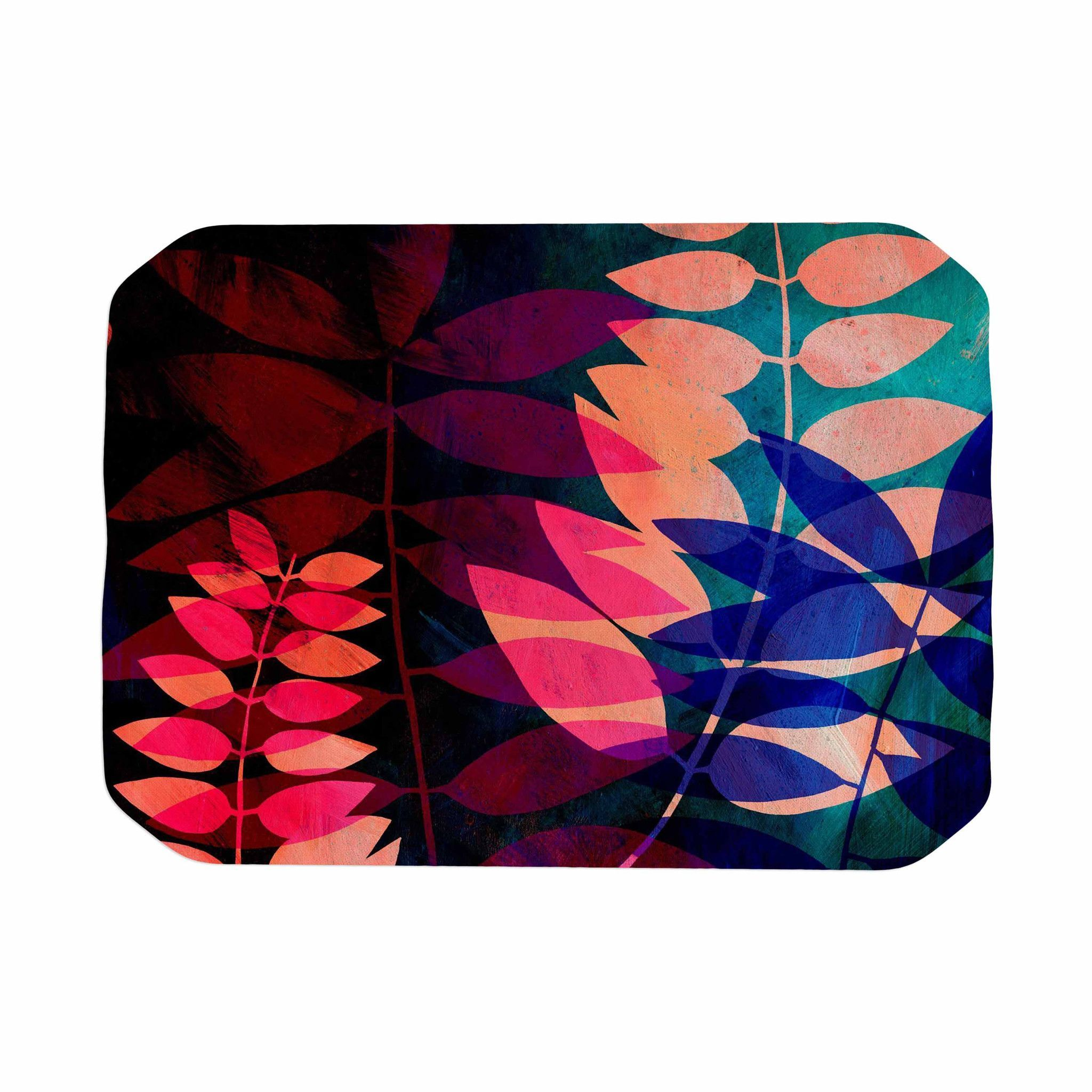 "Jessica Wilde ""Dark Jungle"" Multicolor Nature Place Mat"