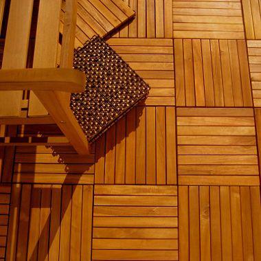 Interlocking Wood Deck Tile Fsc Eucalyptus Eco Design Pinterest