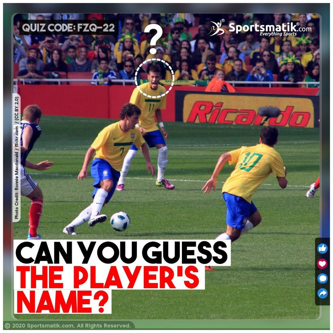 Guys Girls Let S Solve An Interesting Puzzle On Our Favourite Footballer Identify The Name Of The Footballer And Challen In 2020 Sports Quiz Quiz Guys And Girls