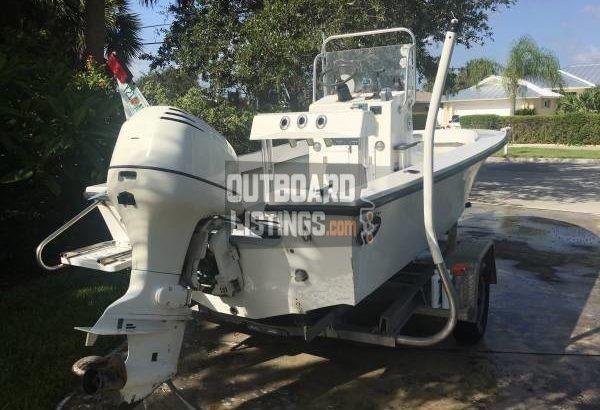 Dusky Center Console 17′ 115hp Johnson Outboard – Boat