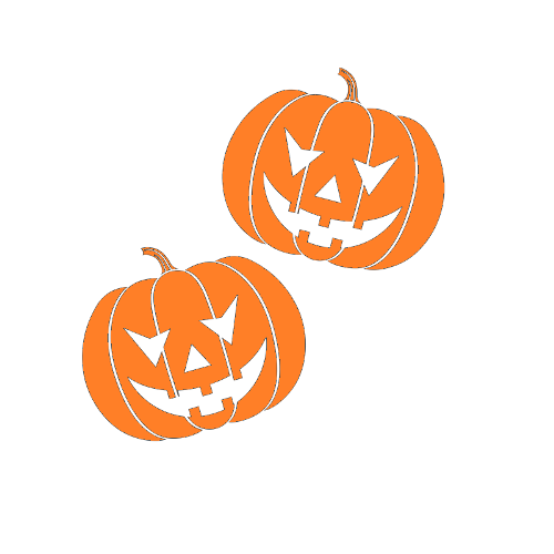 Decorate Your House For Halloween Using Our Pumpkins Wall Decals. Easy To  Put Up And