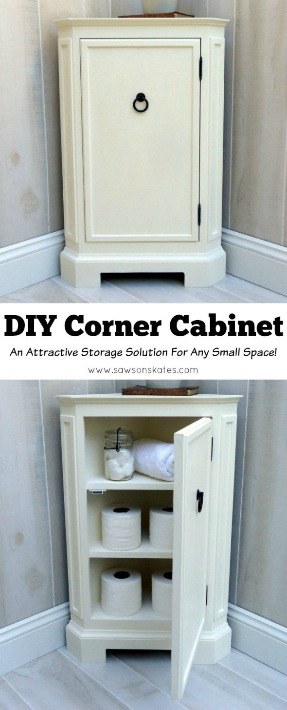 DIY Corner Cabinet Inspired by Catalog Retailer | Best of Skates ...