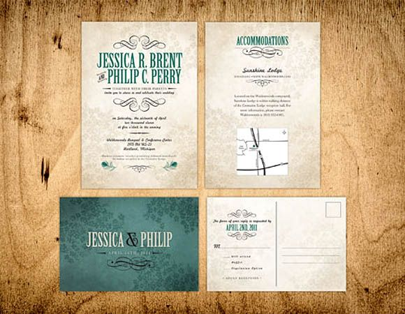 45 Wedding Invitation Designs That Reflect The Style Of Your Event - sample cover sheet
