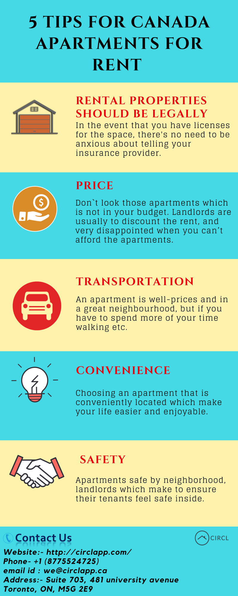 Find The Best Apartments And Condos To Rent On Circlapp. Find The Best  Value For