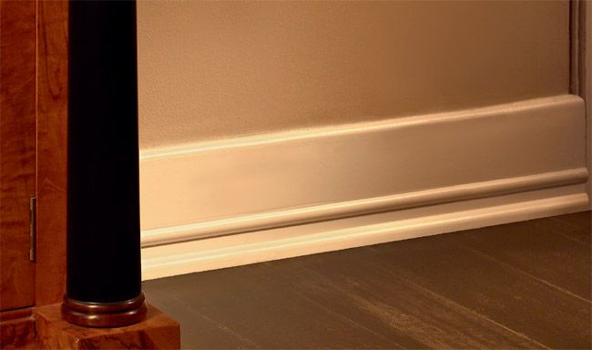 Floor Mouldings | Art Deco Baseboard Molding Miami