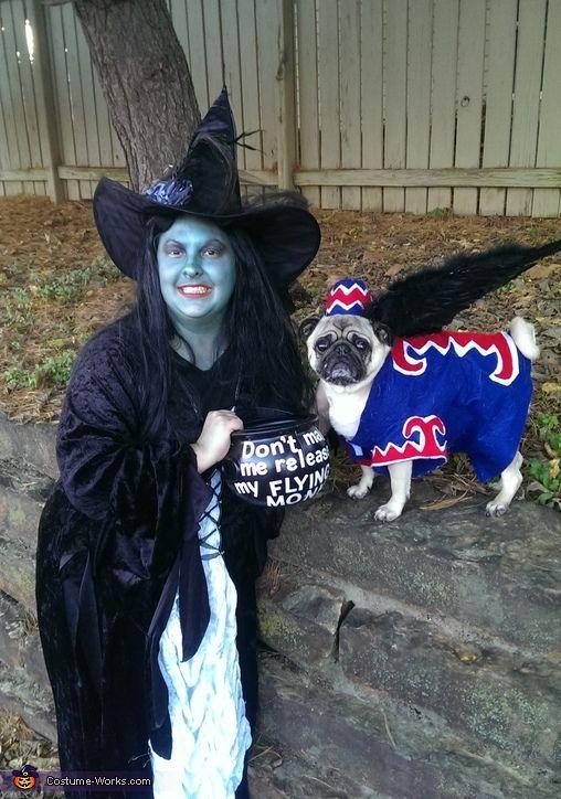 Flying Monkey Dog Costume | Costume works, Monkey halloween ...