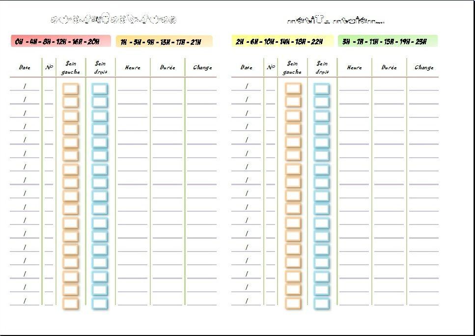 cahier de suivi d 39 allaitement personnalisable b b pinterest allaitement suivi et carnets. Black Bedroom Furniture Sets. Home Design Ideas