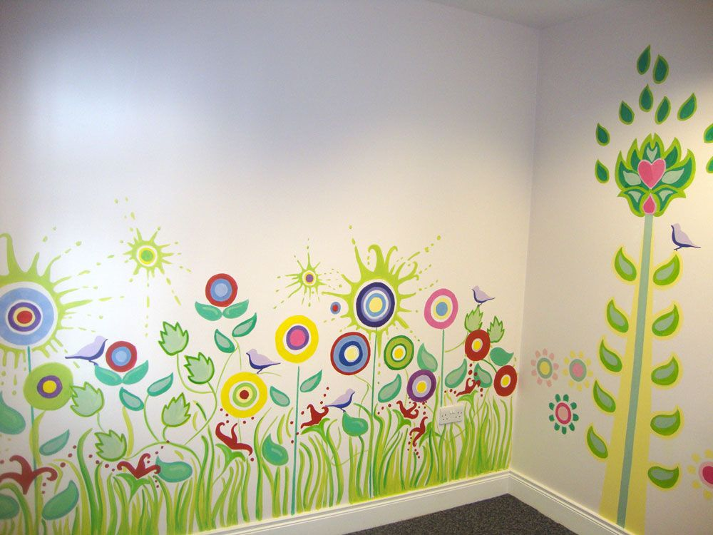 Or Nursery With A Bespoke Mural From Thatsmyname.ie. We