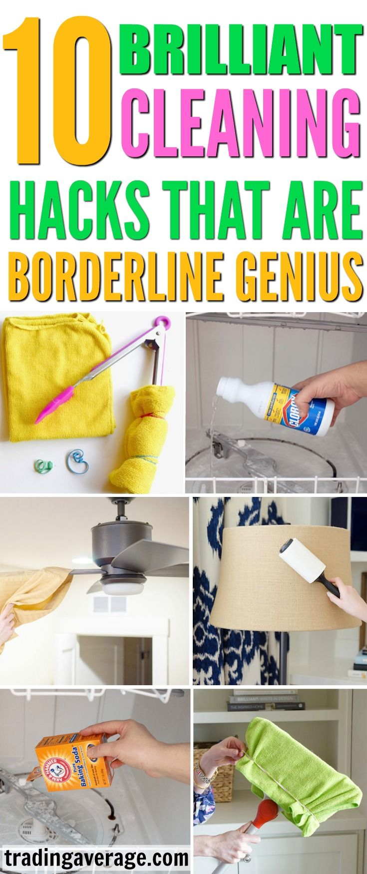 Nice 10 Genius Cleaning Hacks That Will Save You So Much Time | Board, Life  Hacks And Blogging