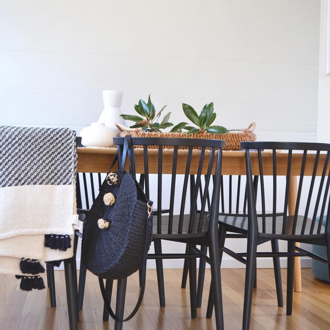 Embrace Scandinavian Design With A Beech Dining Table Black Danish Dining Chairs And Black And Whi Dining Table Black Scandi Dining Table Danish Dining Chairs