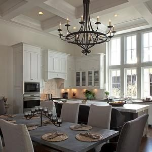 Geoff Chick - kitchens - L shaped kitchens, traditional white kitchens, wood kitchen hoods, wood panel kitchen hoods, kitchen corbels, kitch...