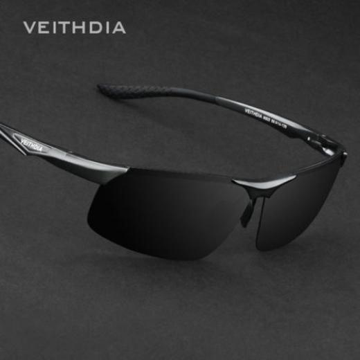 d9fb64c18de Veithdia Aluminium Polarized Sunglasses Men Driving Fishing Mirrored Eyewear  Uv400 Lens Sport Gray Or Brown Aircraft