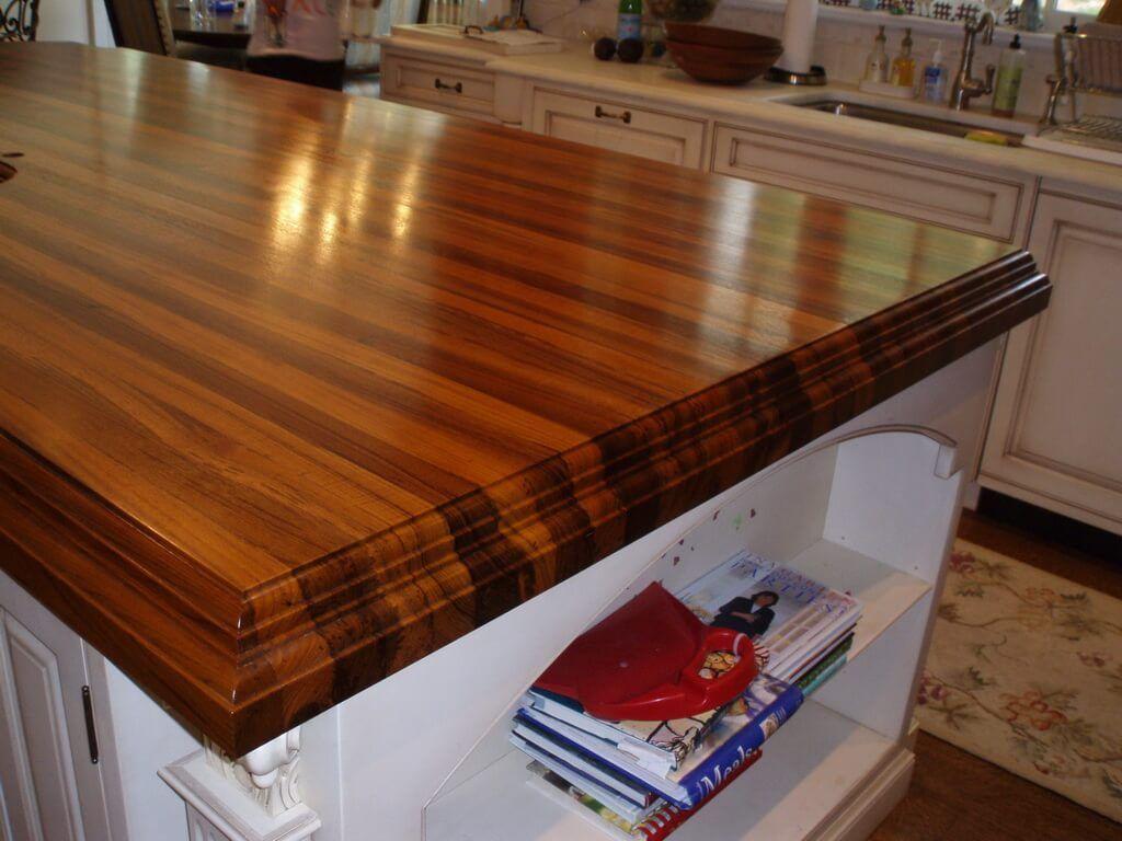 Edge Grain Edge Profiles For Wood Countertops Wood Countertops
