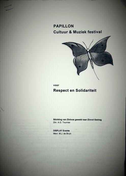 projectplan festival DE START: PAPILLON Festival. Tijdens mijn bedrijf DISPLAY Events